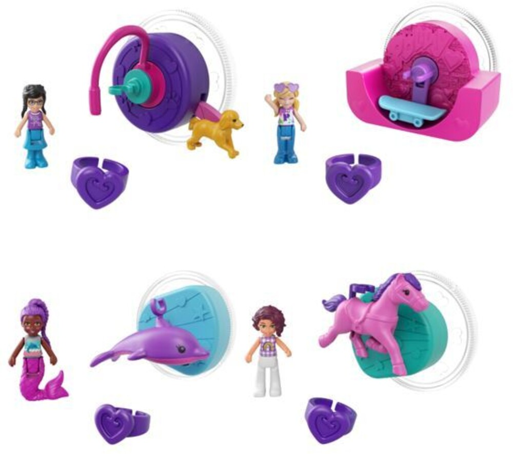 Polly Pocket - Mattel - Polly Pocket Single Micro Doll Assortment
