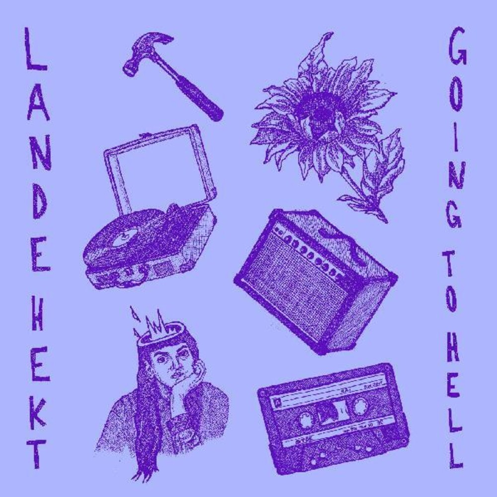 LANDE HEKT - Going To Hell [Colored Vinyl] (Pnk)