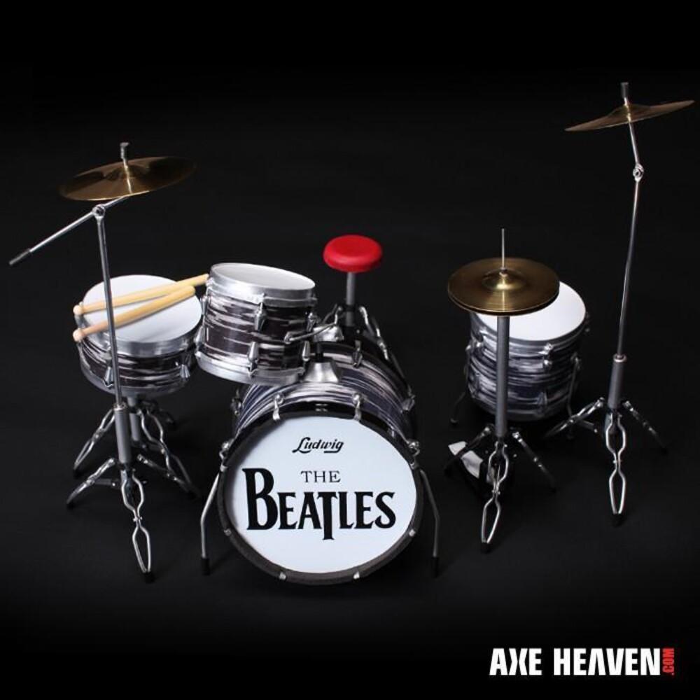 - Ringo Starr Beatles Oyster Ludwig Mini Drum Kit