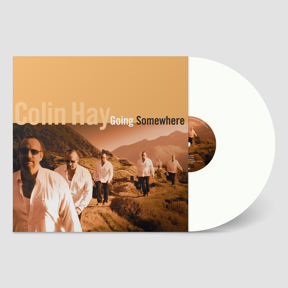 Colin Hay - Going Somewhere (White Vinyl) [Colored Vinyl] (Ofv) (Wht)