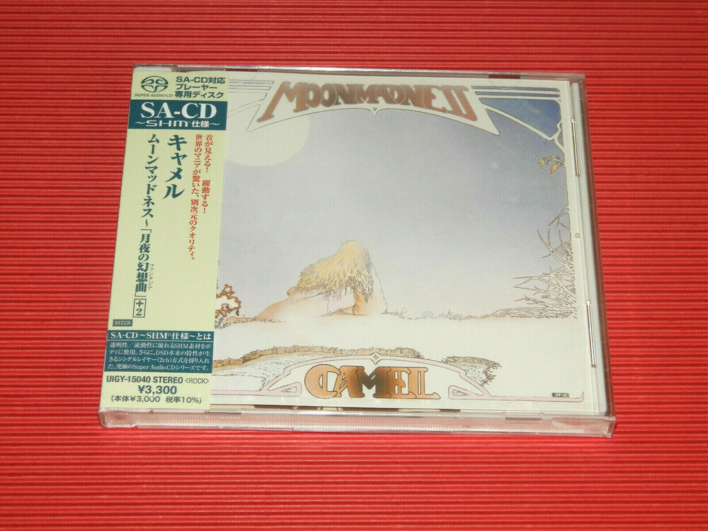 Camel - Moonmadness (Shm) (Jpn) (Sl)