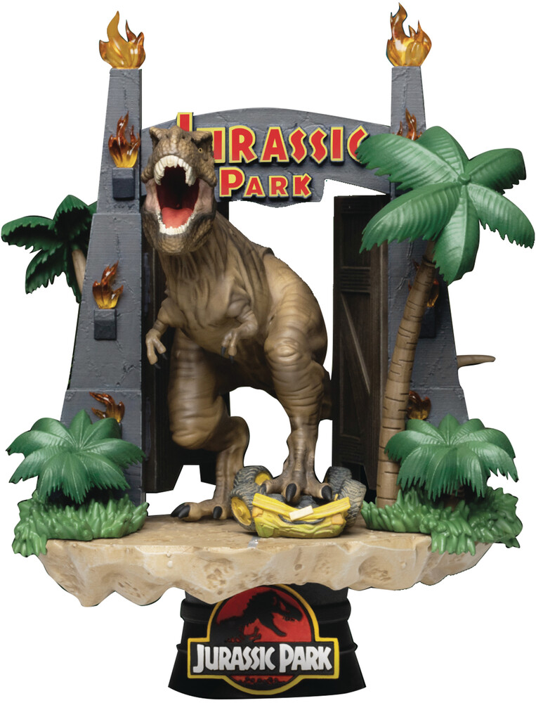 - Jurassic Park Ds-088 Park Gate D-Stage 6in Statue