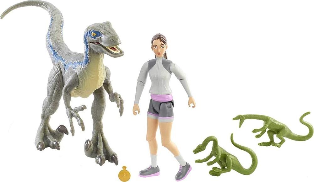 Jurassic World - Jurassic World Yaz Velociraptor Compys & Compass