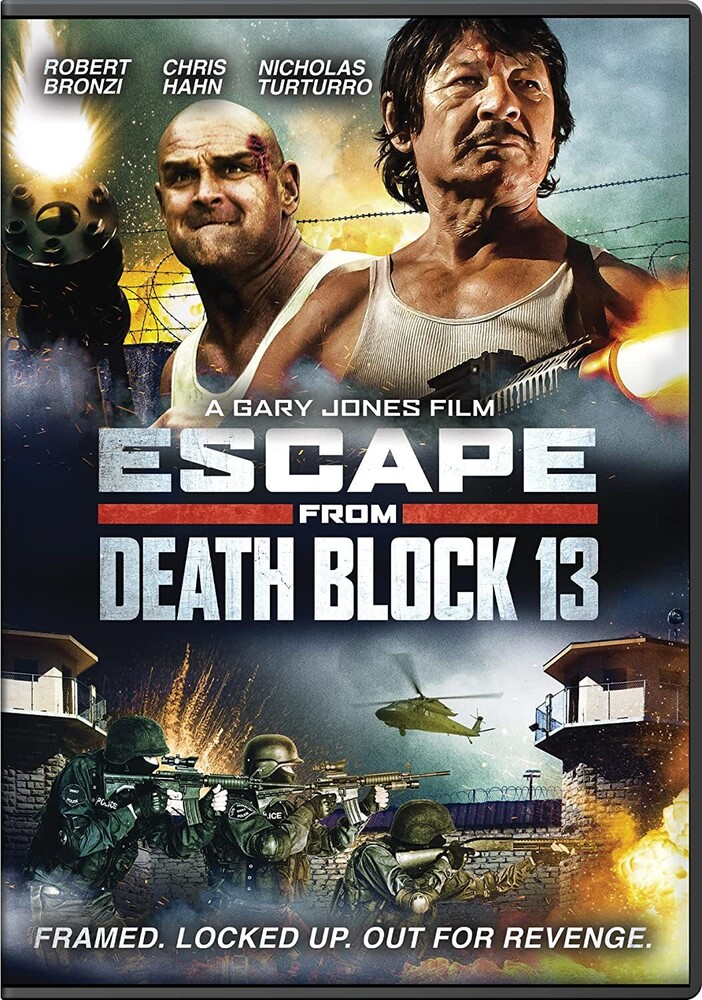 Escape From Death Block 13 DVD - Escape From Death Block 13 Dvd