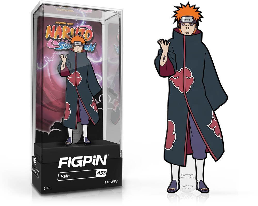 Figpin Naruto Shippuden Pain #453 - Figpin Naruto Shippuden Pain #453 (Clcb) (Pin)