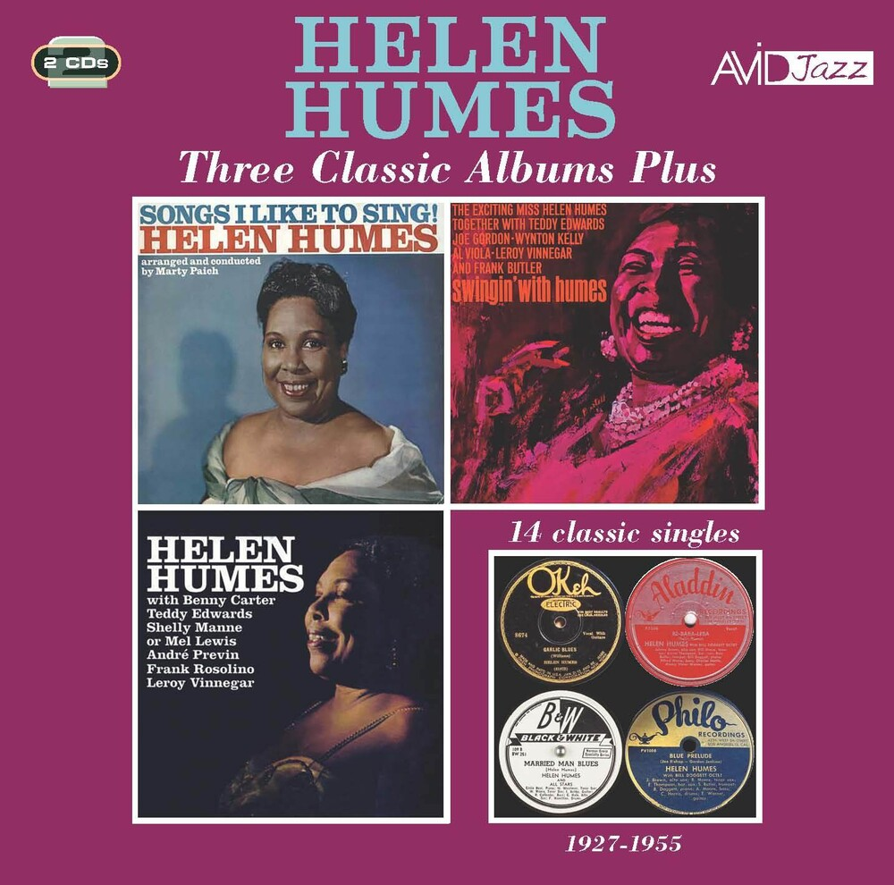 Helen Humes - Songs I Like To Sing / Swingin With Humes (2pk)