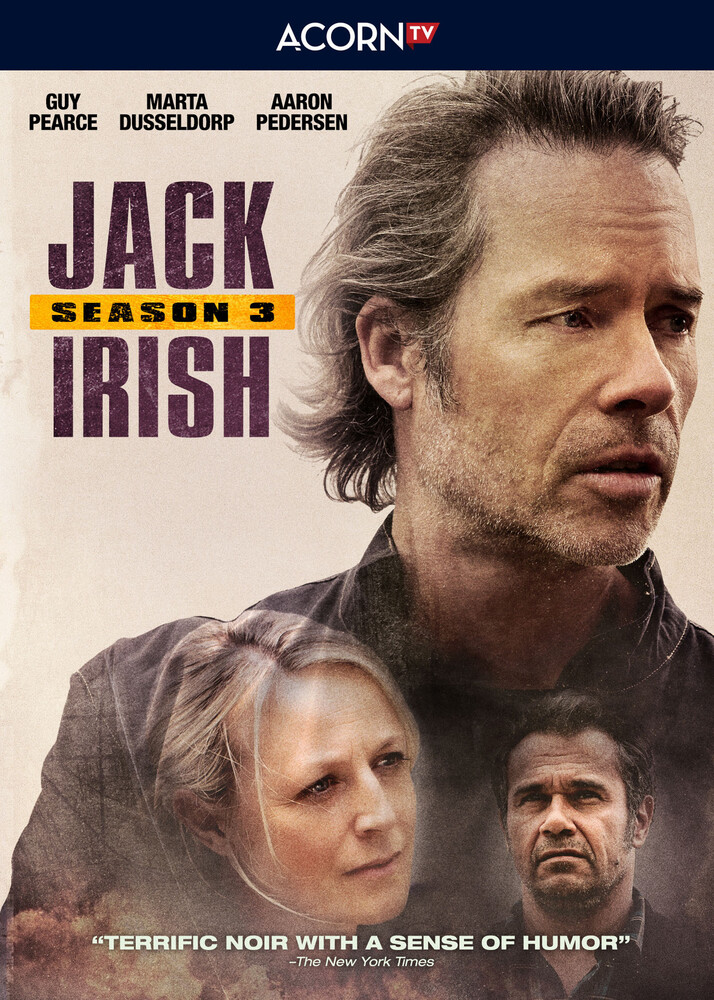 Jack Irish Series 3 DVD - Jack Irish Series 3 Dvd (2pc) / (2pk)