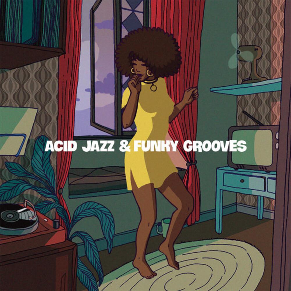 Acid Jazz & Funky Grooves / Various - Acid Jazz & Funky Grooves / Various (Ita)
