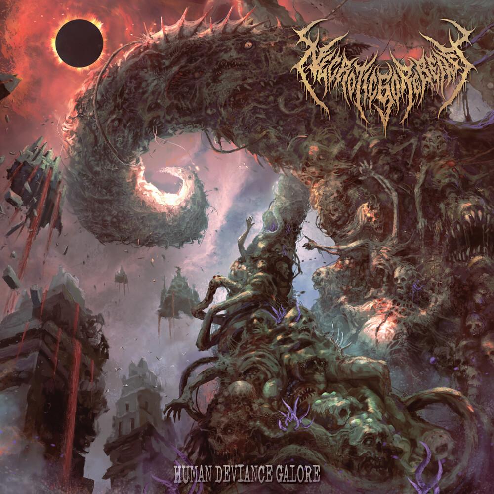 Necroticgorebeast - Human Deviance Galore