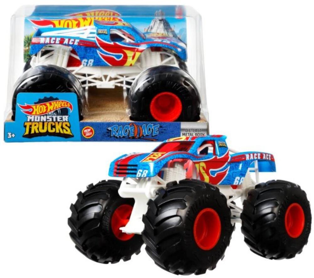 Hot Wheels Monster Truck - Hw Monster Truck 1:24 Race Ace (Tcar)