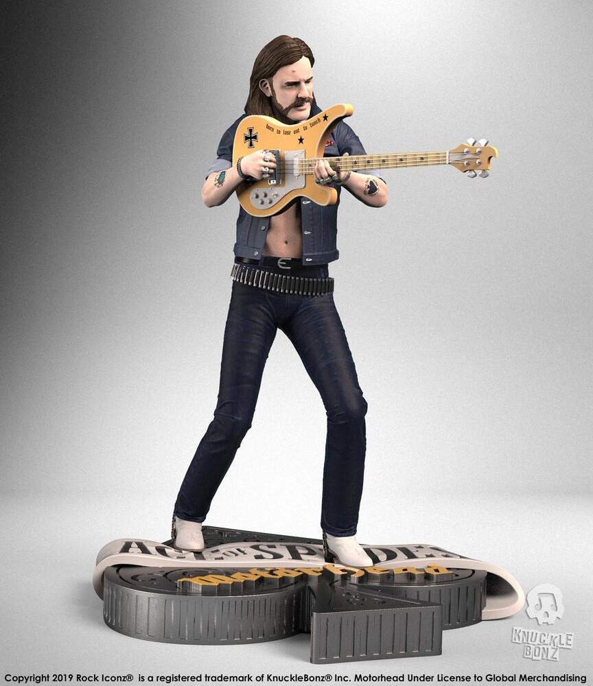 Knucklebonz - Motorhead Lemmy Iii Rock Iconz Statue