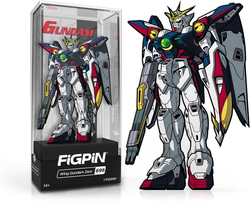 Figpin Gundam Wing Gundam Zero #696 - Figpin Gundam Wing Gundam Zero #696 (Clcb) (Pin)