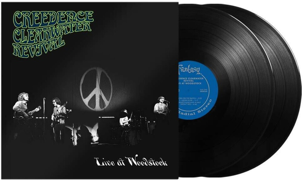 Creedence Clearwater Revival - Live At Woodstock [2LP]