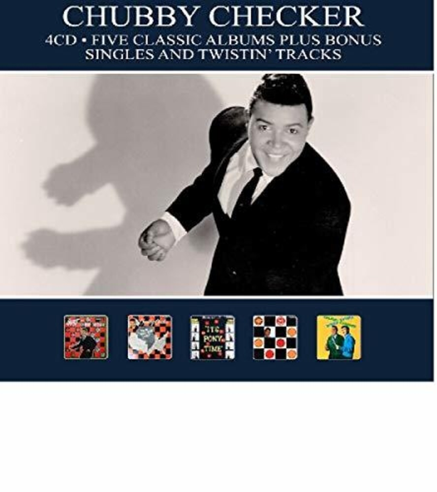 Chubby Checker - 5 Classic Albums Plus Bonus Singles & Twistin Tracks