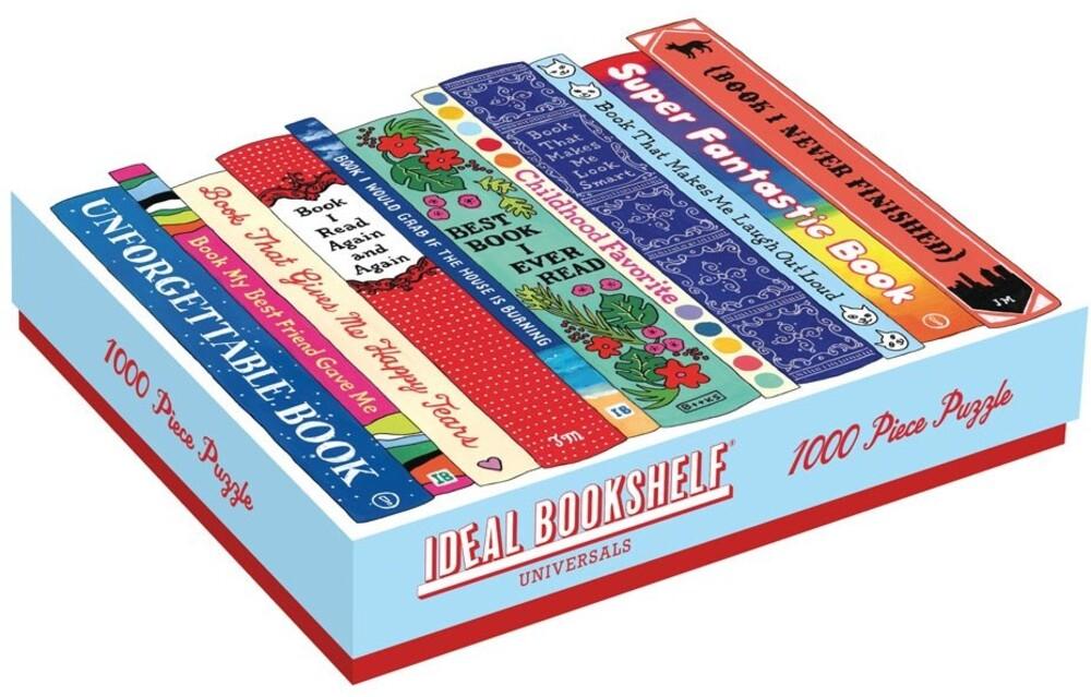 - Ideal Bookshelf: Universal 1000 Piece Puzzle
