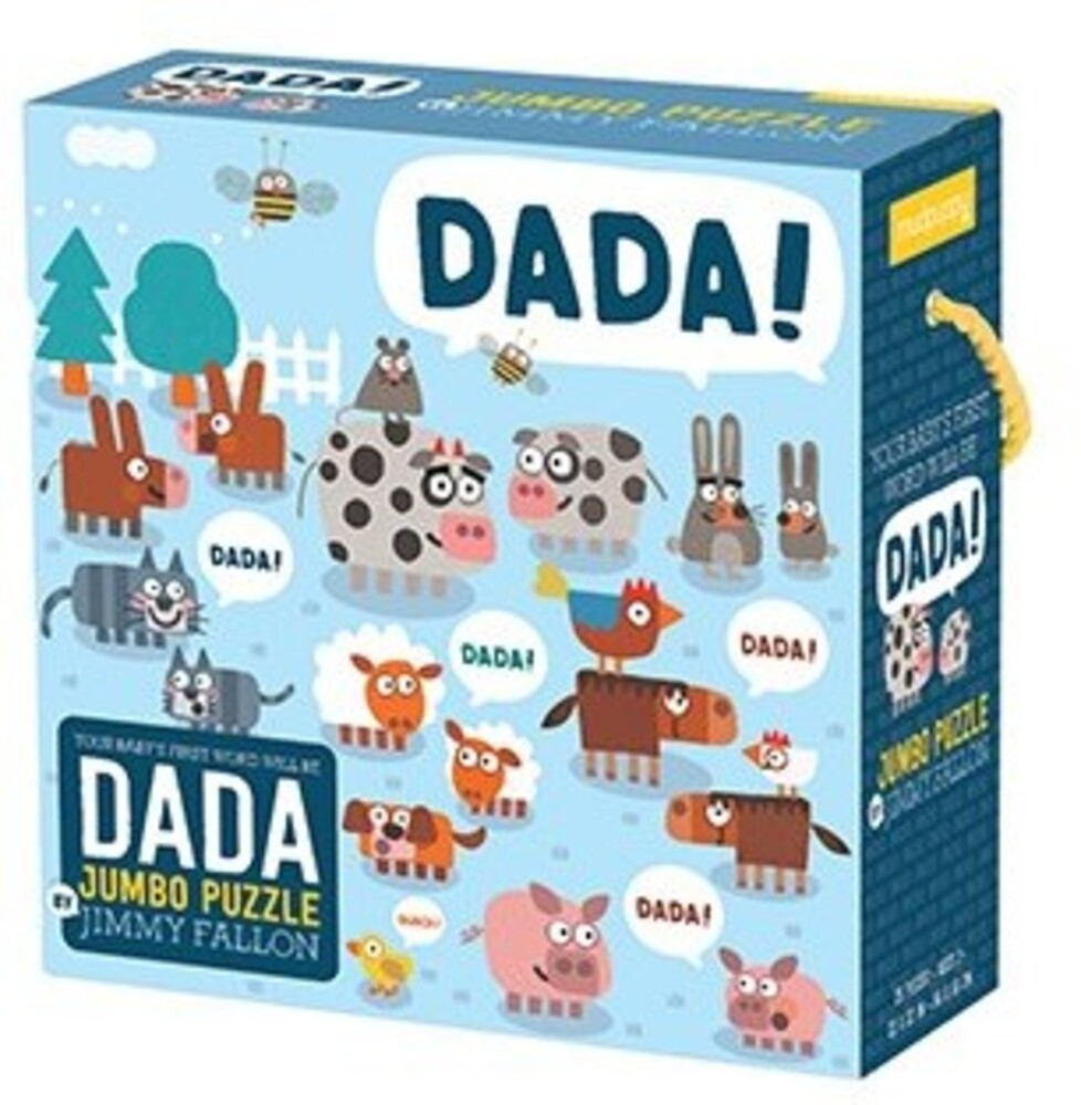 - Jimmy Fallon Your Baby's First Word Will Be Dada Jumbo Puzzle