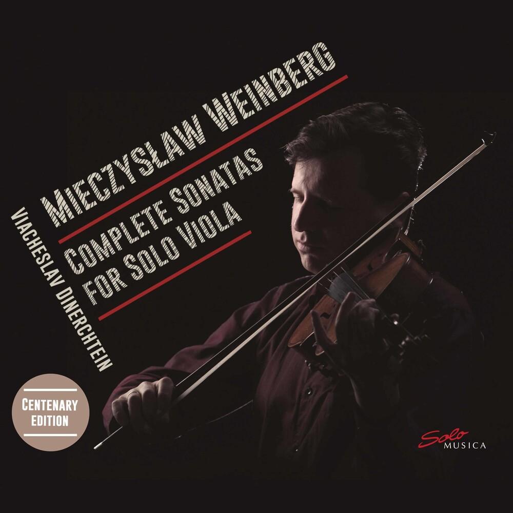 Weinberg / Viacheslav Dinerchtein - Complete Sonatas Solo Viola (2pk)