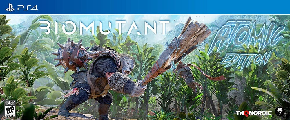 - Biomutant Atomic Edition for PlayStation 4