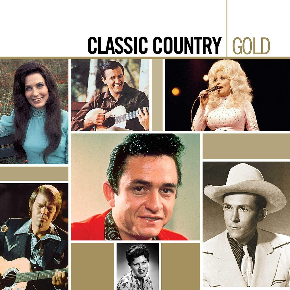 Various Artists - Classic Country Gold [LP]
