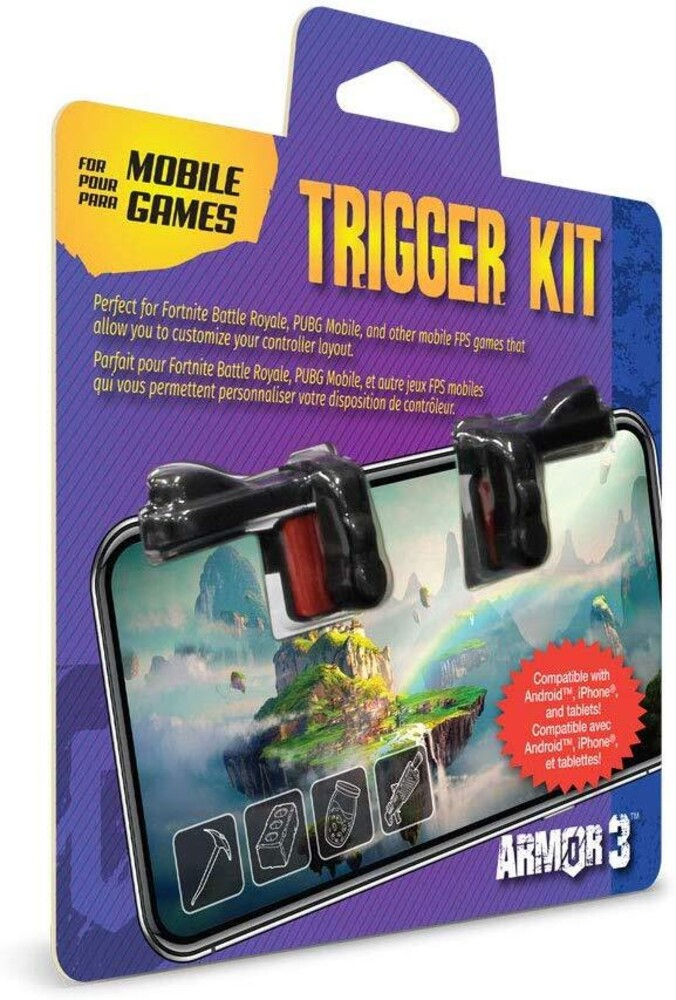 - Armor3 Trigger Kit for Mobile Games