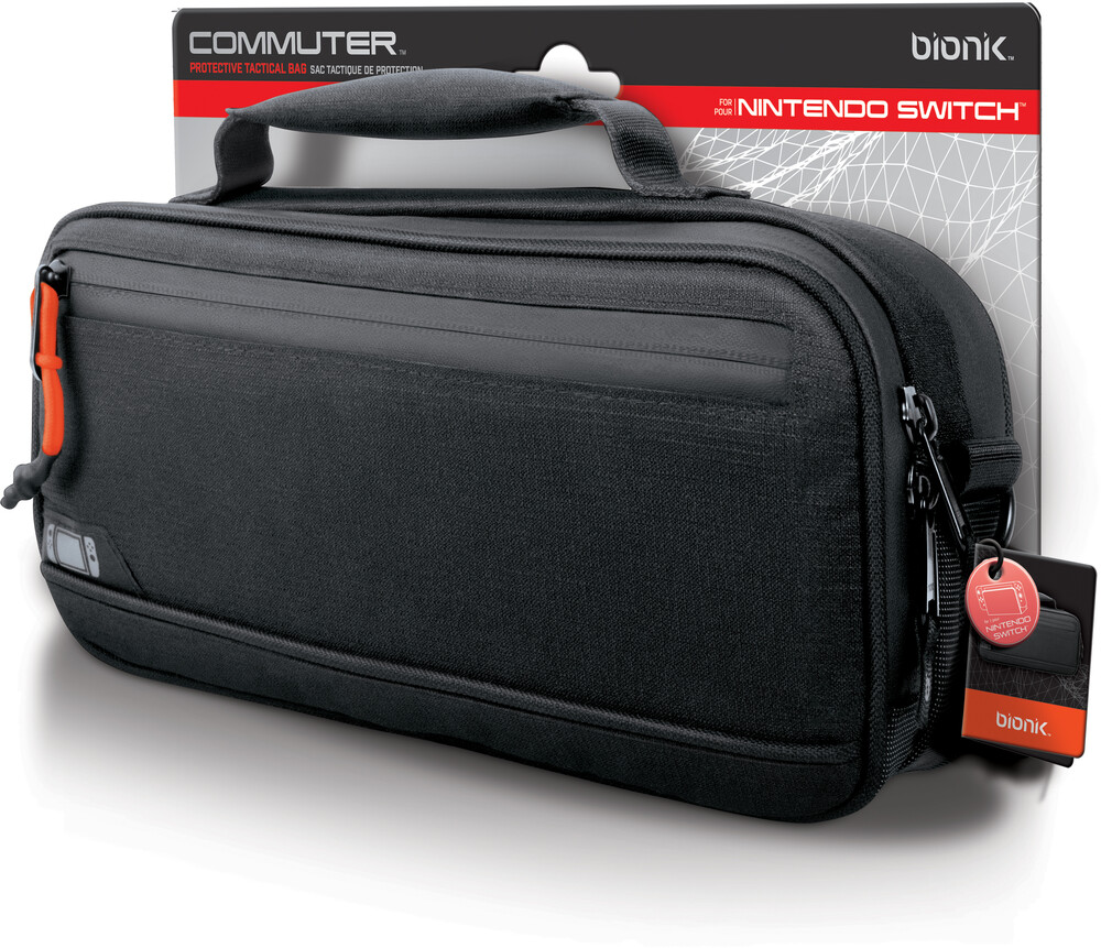 - BIONIK BNK-9030 COMMUTER Nintendo Switch Case Black