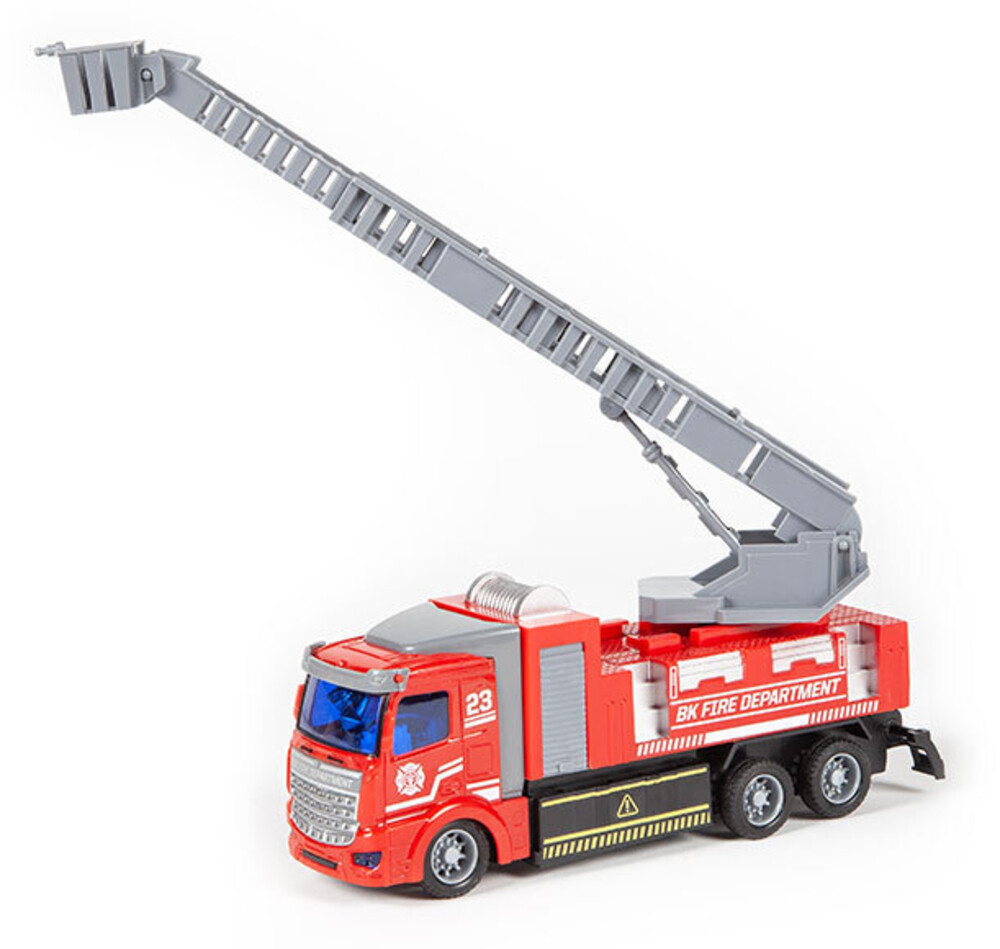 Rc Vehicles - Big Kid's Fire Department 1:48 RC Ladder Truck