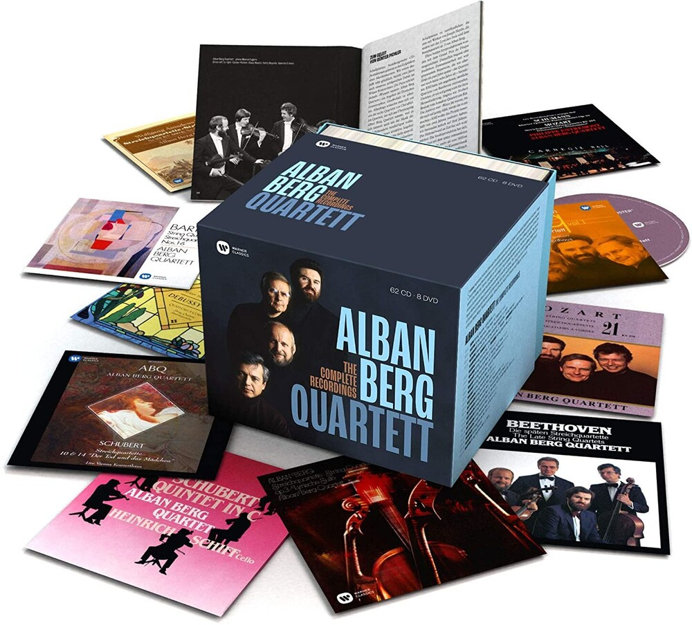 Alban Berg Quartet - Complete Recordings (W/Dvd) (Box) (Ltd) (Fra)