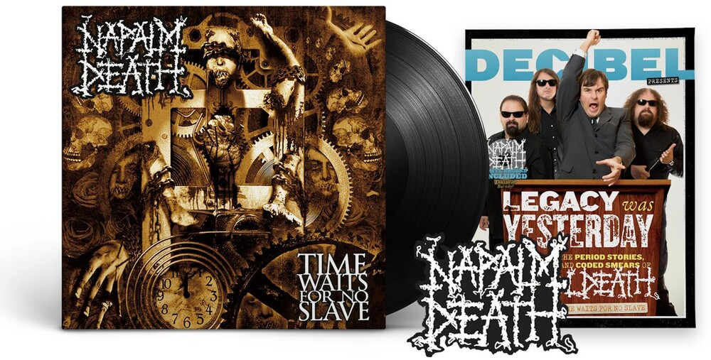 Napalm Death - Time Waits For No Slave (Decibel Edition) [LP]