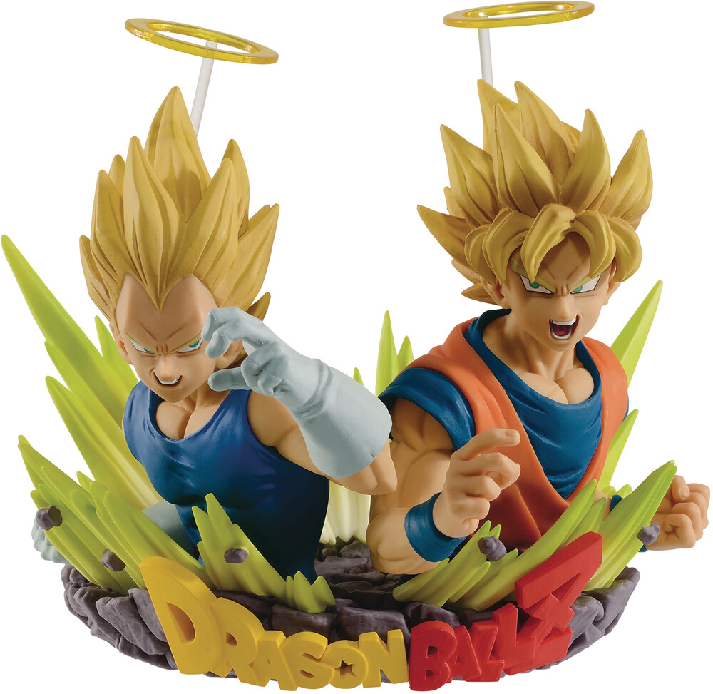 Banpresto - BanPresto - Dragon Ball Z Super Saiyan Goku & Vegeta Diorama