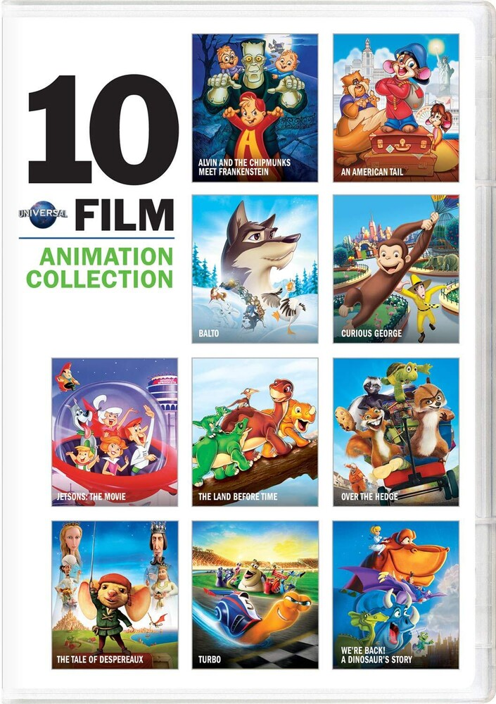Universal 10-Film Animation Collection - Universal 10-Film Animation Collection (10pc)