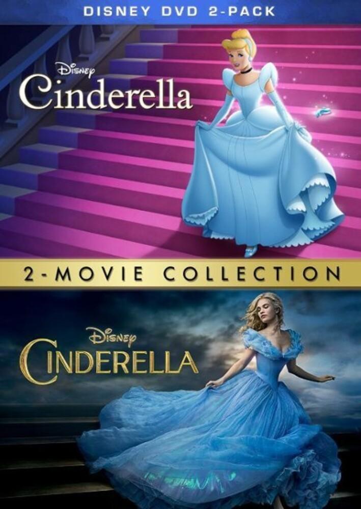 - Cinderella (Animated) & Cinderella (Live Action)