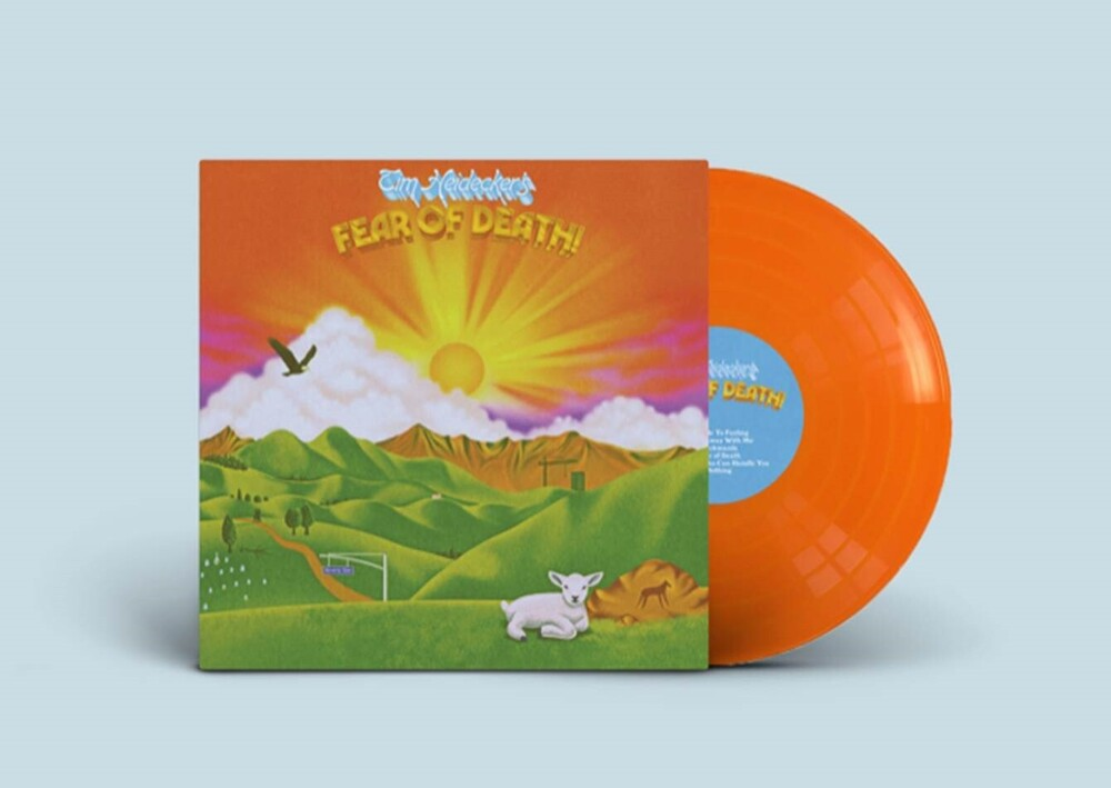 Tim Heidecker - Fear of Death [Indie Exclusive Limited Edition Sunset Orange LP]