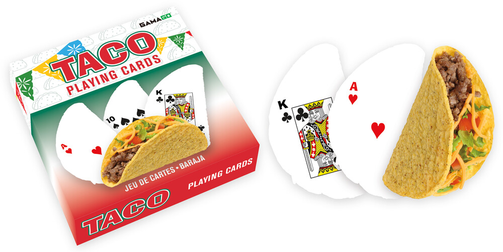 Taco Shaped Playing Cards Deck - Taco Shaped Playing Cards Deck