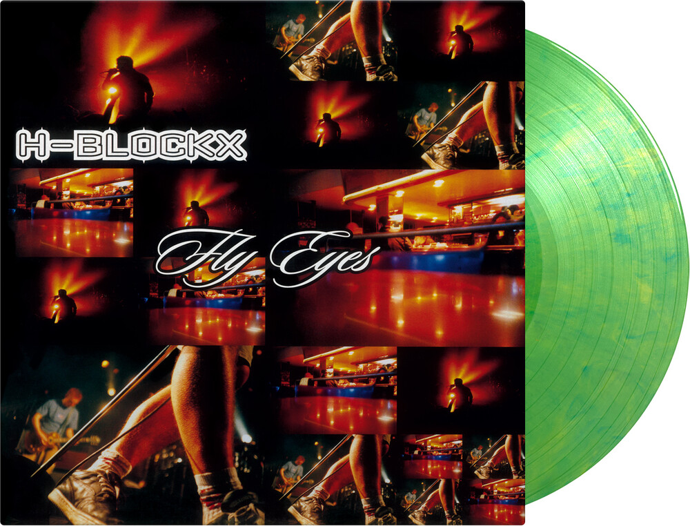 H-Blockx - Fly Eyes [Limited, Gatefold 180-Gram Green Marbled Colored Vinyl]