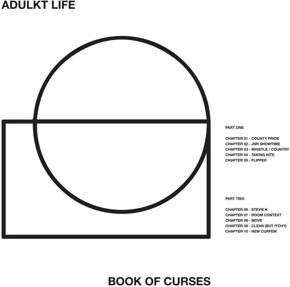 Adulkt Life - Book Of Curses [Indie Exclusive Limited Edition White LP]