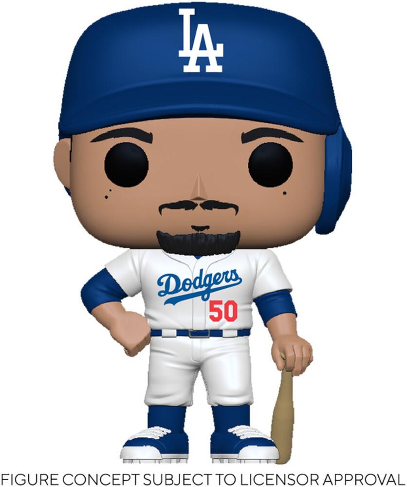 Funko Pop! MLB: - Dodgers- Mookie Betts (Home Uniform)