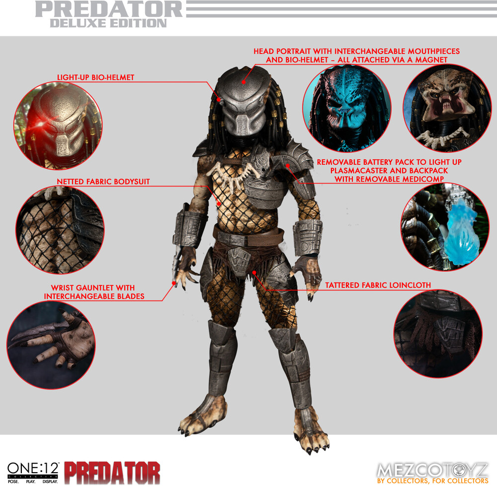 One:12 Collective Predator - Deluxe Edition - Mezco - One:12 Collective Predator - Deluxe Edition
