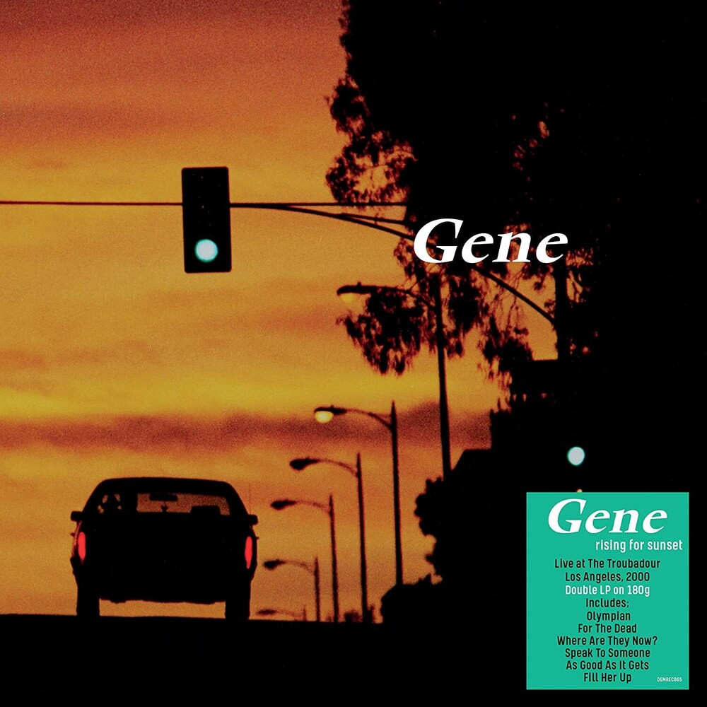 Gene - Rising For Sunset [180-Gram Black Vinyl]