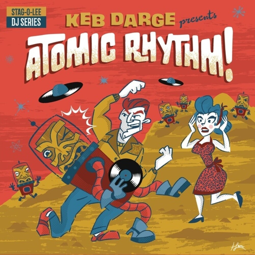 Keb Darge Presents Atomic Rhythm 5 / Various (2pk) - Keb Darge Presents Atomic Rhythm Vol. 5 (Various Artists)