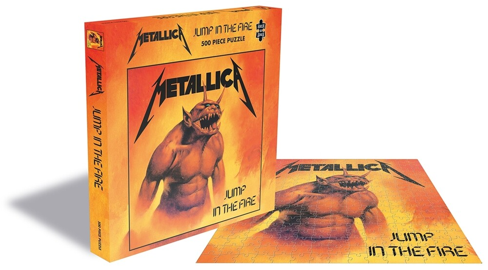 Metallica Jump in the Fire (500 Piece Puzzle) - Metallica Jump In The Fire (500 Piece Jigsaw Puzzle)