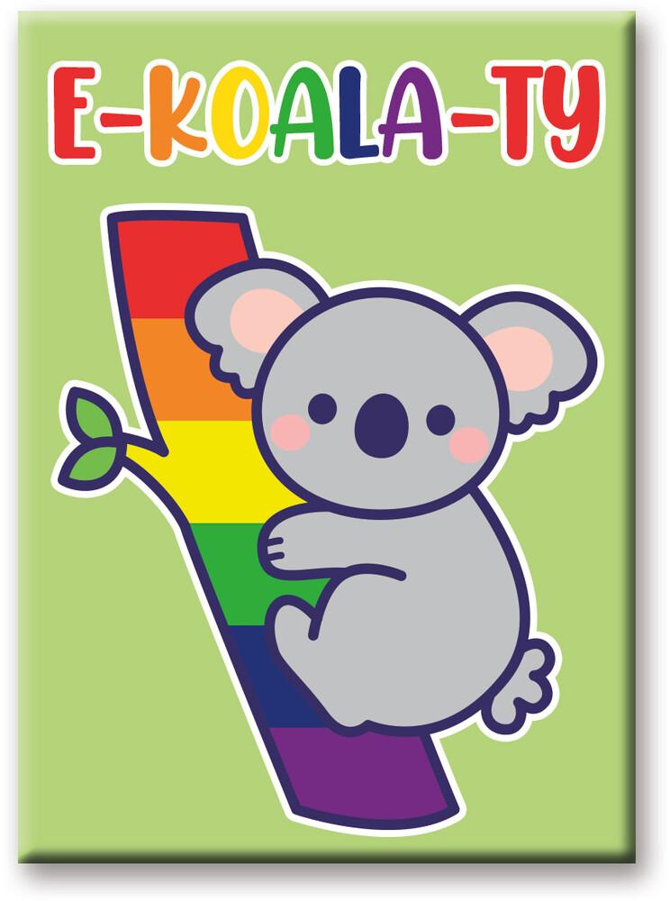 Pride Koala 2.5 X 3.5 Flat Magnet - Pride Koala 2.5 x 3.5 Flat Magnet