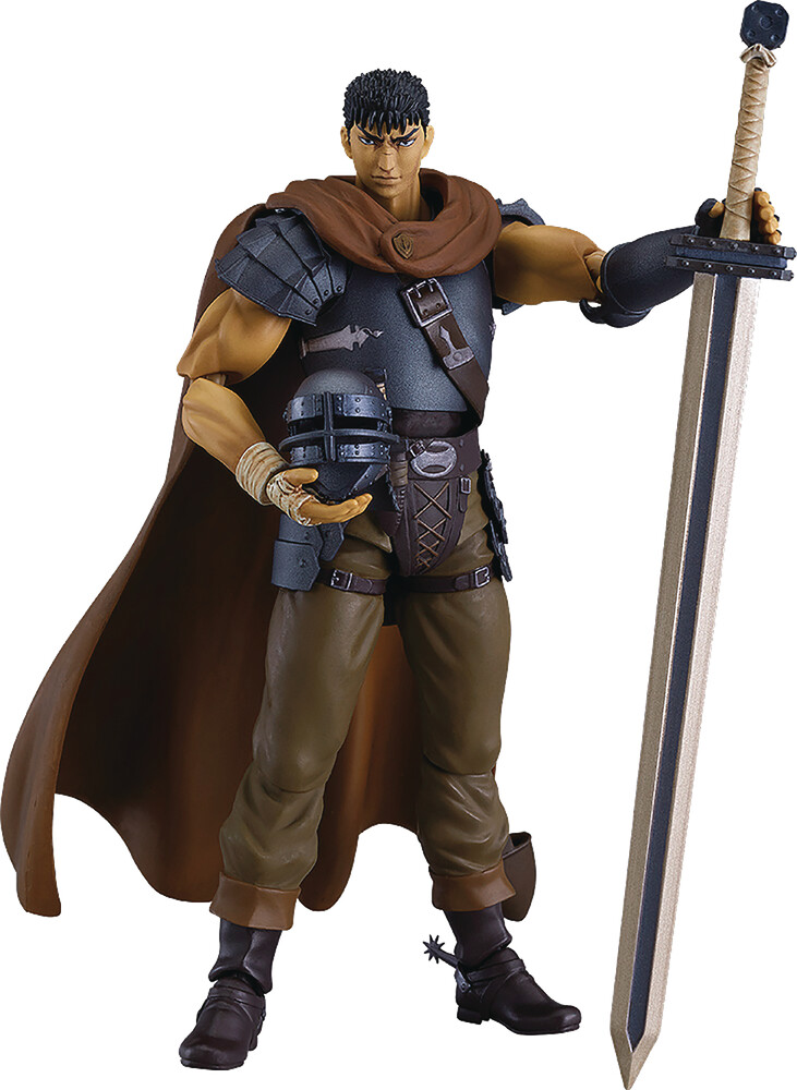 Good Smile Company - Good Smile Company - Berserk Golden Age Guts Band Of The Hawk FigmaAction Figure Repaint