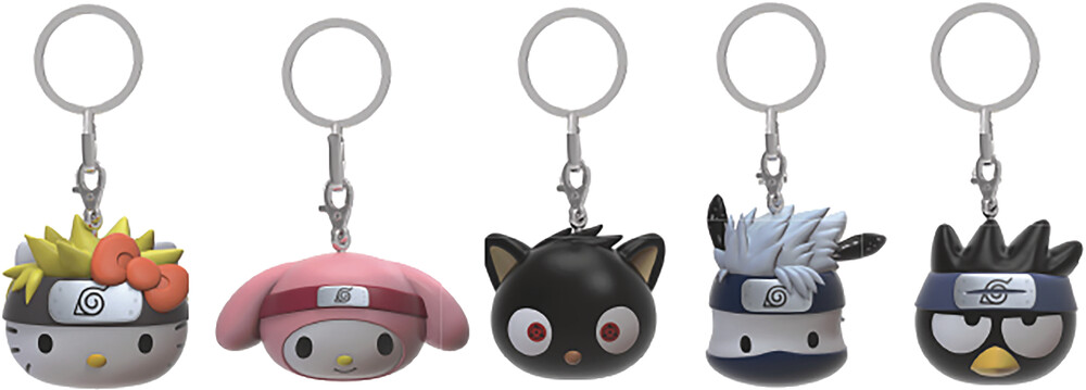 - NECA - Naruto x Hello Kitty Vinyl Keychain 24 Piece BMB DS