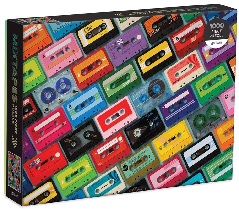 - Mixtapes 1000 Piece Puzzle