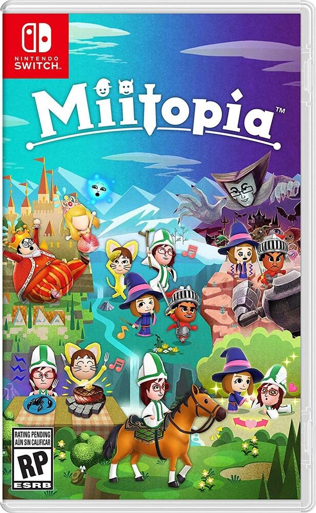 - Miitopia for Nintendo Switch
