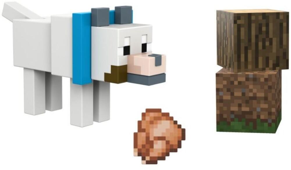 Minecraft - Mattel Collectible - Minecraft 3.25 Wolf