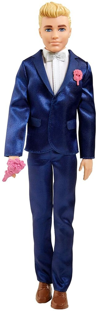 - Mattel - Barbie Fairytale Ken Groom Doll