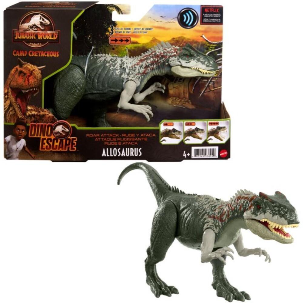 Jurassic World - Mattel - Jurassic World Roar Attack Allosaurus