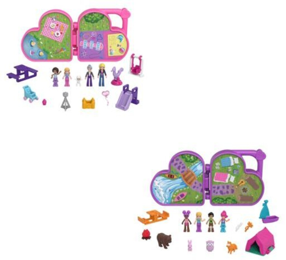 Polly Pocket - Mattel - Polly Pocket Micro Doll Multipack Assortment