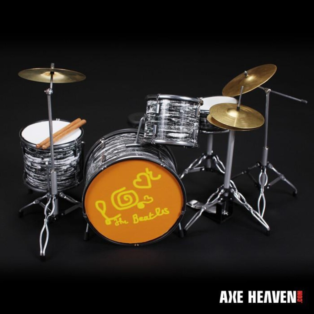 - Ringo Starr Beatles Love Mmt Mini Drum Kit Replica